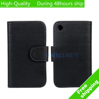 High Quality Leather Flip Wallet Case Cover For Apple iphone 3G 3GS Free Shipping UPS DHL EMS HKPAM CPAM