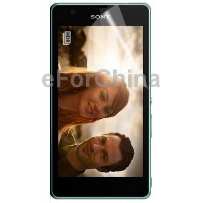 Защитная пленка для мобильных телефонов 2 LCD Pelicula Sony Xperia ZR /m36 защитная пленка для мобильных телефонов lcd nokia x 2