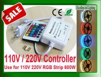 110v 220v wireless remote control dimmer for RGB LED strip 5050 50meter