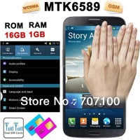 Hot cheap!  N9200 MTK6589T 1.5GHz Quad Core CPU 1GB RAM 16GB ROM with 6.5 Inch 1920x1080 IPS Screen Android 4.2.1 12MP Camera