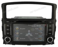 Mitsubishi Pajero dashboard car dvd player autoradio gps navigation with Rearview Camera