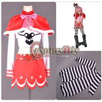 Free Shipping Custom-made One Piece Ghost Princess Perona Two Years Ago Anime Cosplay Costume