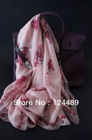 2014 Time-limited Limited Animal Adult Foreign Trade of The Original Single Silk Scarves M*q 140 * Large Square Complete Tag