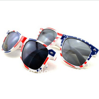 Free shipping fashion m nail UV British American flag stamp glasses designer sunglasses for men and women eyeglass wholesale
