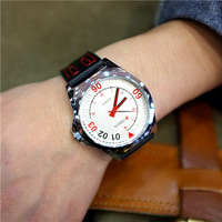 Hot Sale 2014 New Leather Strap Quartz Sports Watch Business Men's Watches Fashion Military Wrist watch ,High Quality