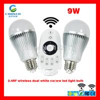 Mi.light AC86-265 V samsung SMD 5630 LED dimmable light bulb, wifi 9W E26/E27/B22 base