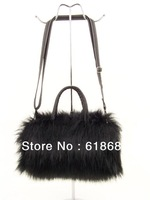 Hot Selling New Winter Influx Of Women Shoulder Bag Messenger Bag Ladies Handbag Small Imitation Rabbit Fur Handbags