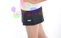 3pcs free ship high quality original VS lady badminton shorts pants badminton jersey culottes badminton sportswear