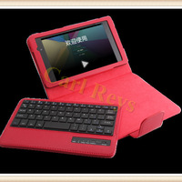 High Quality Litchi Stand Leather Case with Detachable Bluetooth Wireless Keyboard For Google Nexus 7 Free Shipping