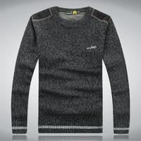 pullovers 2014AFSJEEP winter warm sweater, men's knitted cardigan shirts, knitwear wholesale men free shipping M - XXXL