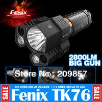 Original Ultra Bright Fenix TK76 Big Gun 2800LM 3 Individual Controlled Lighting Torch Police Tactical Equipment Flashlights LED