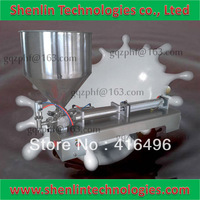 Filling machine to high viscosity sauce packaging pneumatic bottling filler packer tools equipment food lotion machine 50-500ml