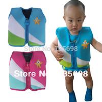 Неопрен анти УФ ребенка плавание поплавок жилет плавучести жилет Купальники куртки спасательный жилет
