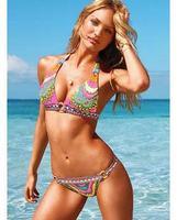 swimwear Factory direct  bikini Bohemian national wind printing trade of the original single-
