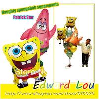 13pcs/set Sponge Bob Patrick Star birthday party balloons adorable video game theme decoration children Children the best gift