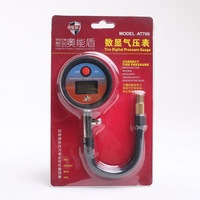 Car Tire digital Pressure Gauge auto Figures gas pressure Meter screw style