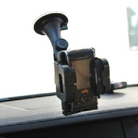 Rotating suction cup car outlet dual-use vehicle mobile phone holder stand / GPS navigation frame