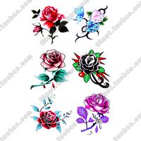 Tattoo stickers Women waterproof sexy rose tattoo hm211