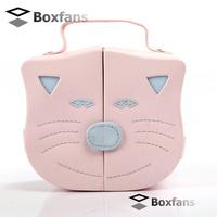 New !!High quality kid's jewelry box cat jewelry box  Pink Fashion Children storage box free shipping