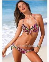swimwear beach wearfactory direct color leopard bikini swimsuit wholesale trade of the original single-sexy bikini