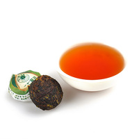 Pu er cooked tea herbal tea mini tuo tea 37 flowers cooked 50 bag