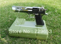 Clear acrylic plexiglass pistols holder/acrylic gun display stand holder