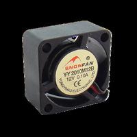 Free Shipping 10pcs/lot 2Pin Quiet Mute 20MM 20x25x10mm DC 12V Exhaust Cooling Cooler Fan
