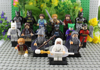 The Lord of the Rings Hobbits Figures Vs Batman Figures Super Heroes Gandalf Gondor Saruman Building Blocks Set Classical Toy
