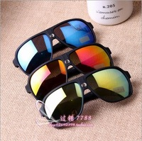 UV men sunglasses ray brand designer sun glasses caravan polarized driving fishing / Fluorescent mirror Locomotive lovers /708