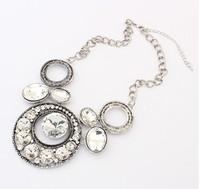 Fashion trend rhinestone luxurious necklace fashion charming necklace cxt99068