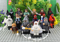 The Spiderman Figures Vs The Lord of the Ring Hobbits Action Figures Gandalf Building Blocks Super Heroes Toys Classical Toy