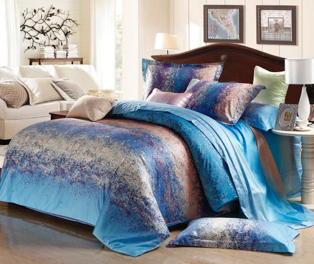 Achetez en gros couvre lit satin matelass en ligne des grossistes couvre l - Taille lit queen size ...
