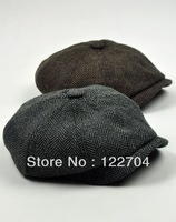 European version super star vintage cap forward men's cap octagonal hat newsboy beret caps