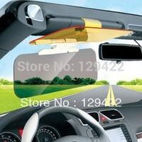 Day and night anti-vertigo car driver goggles night vision glasses visor mirror anti-glare polarizer car mirror sun glasses