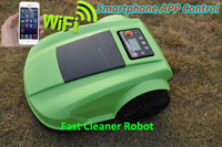 2014 Newest 4th Generation Remote Control Lawn Mower Robot With Range Funtion,Auto Recharged,Waterproof,Subarea setting