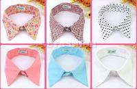 New Women's Vintage Peter Pan Detachable Faux Collar Necklace Choker Unisex Tie