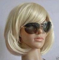 JF795 Sexy short blonde Women's wig +wigs CAP