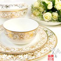 bowl plate dish bone china tableware 56 fashion