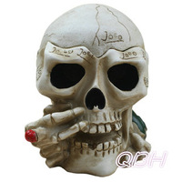 Free shipping skull ashtray ashtray bin fashion personalized gift skeleton shape home decoration