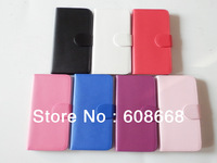 Flip Leather Case with Credit Card Holder/Slot Magnetic Folio Cover for Samsung GALAXY Note III N9000 Free Shipping 500pcs