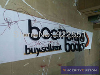 custom-made outdoors advertising sign letters led channel letters logotypes for bookstore