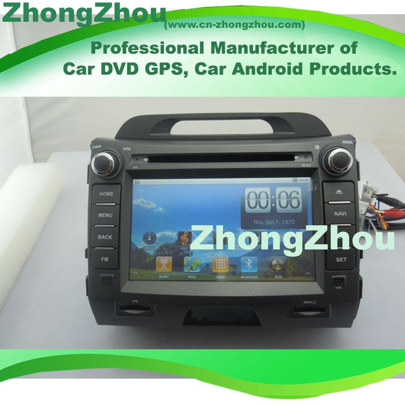 New!!Pure Android System Kia Sportage DVD GPS Player i.MX515 CORTEX A8 800MHz CPU DDRII 512MB 3G WIFI RDS Ipod BT Kia Sportage(China (Mainland))