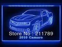 AC082 B 2010 Chevy Camaro LED Light Sign