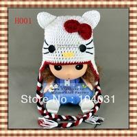 funny hats cat crochet pattern hip hop caps kids