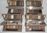 2014 new makeup  6+6 eyeshadow Palette  (20 PCS / lot) Free shipping
