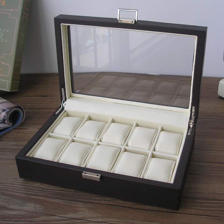 Wooden Watch Display Box Watch Storage Box Display