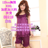 Sleepwear female plus size sleepwear mm viscose sleepwear female sexy viscose sleep set
