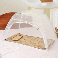Mongolia package encryption baby mosquito net belt mount baby child bed mosquito net mattress folding portable mosquito