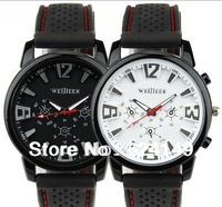 Free Shipping New Pretty Fashion Men's Army Sports Quartz Rubber WristWatches, Brand New Wristwatches for Men Boy
