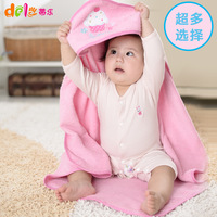 Newborn winter was newborn baby holds autumn and winter baby cloth cotton 100% blankets